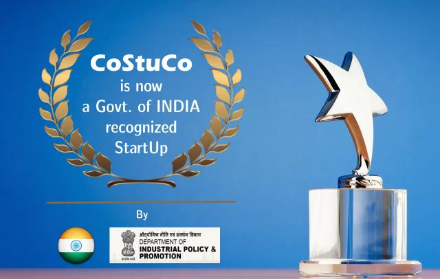 Costuco is now officially a Govt. of INDIA approved StartUp.